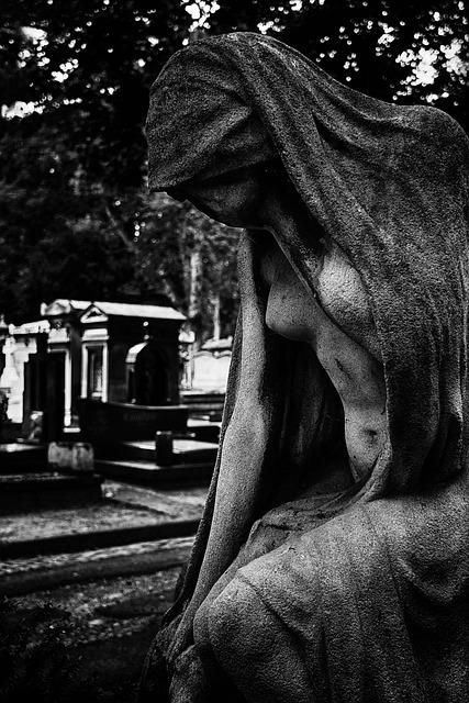 Sacred Art, Cemetery, Paris