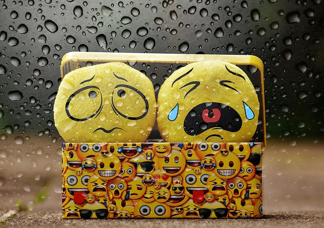 Cry, Bad Weather, Rain, Drip, Smilies, Sad