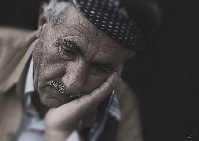 Man, Person, Frustration, Portrait, Old, Sad, Unhappy