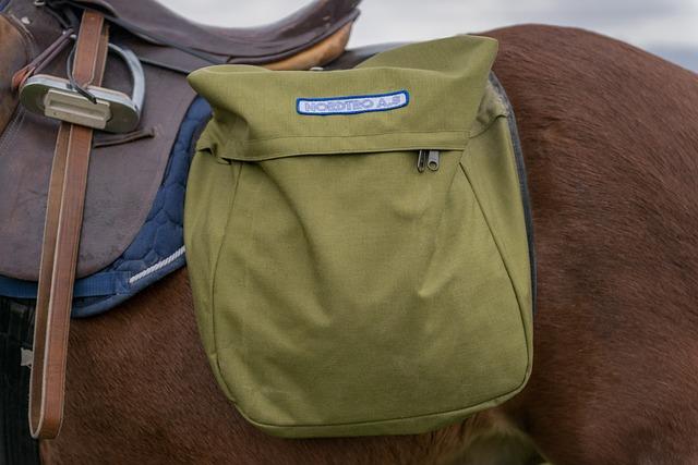Horse, Saddlebag, Animals, Sal, Norskprodusert, Bag