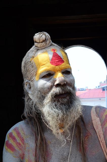 Nepal, Holy, Man, Old Man, Sadhu, Beard, Culture