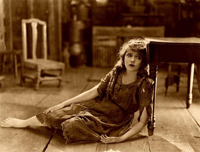 Mary Pickford, Silent Film, Sad, Sadness, Poverty