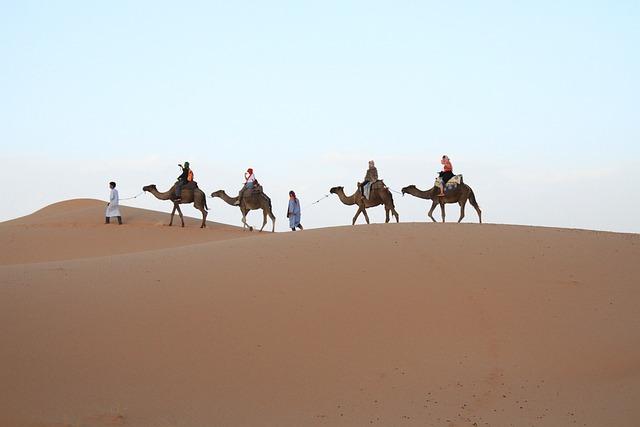 Desert, Sahara, Moroccan