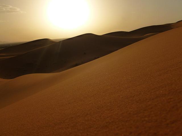 Morocco, Sahara, Erg Chebbi