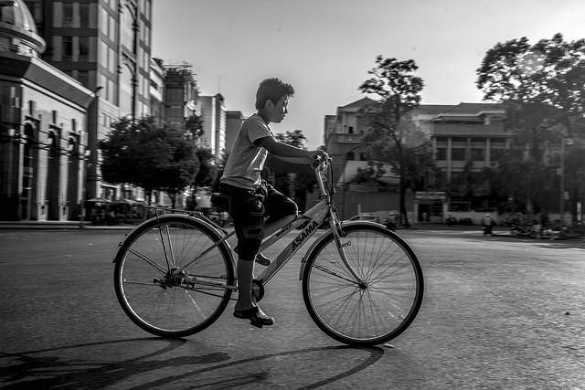 Bicycle, Viet Nam, Saigon