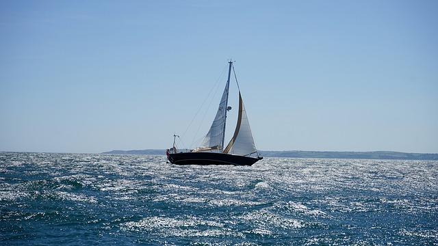 Sea, Sailboat, Water, Sail, Ocean, Yacht, Boat, Sky