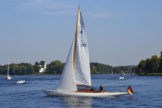 Waters, Sailing Boat, Ship, Sail, Boot, Summer, Yacht