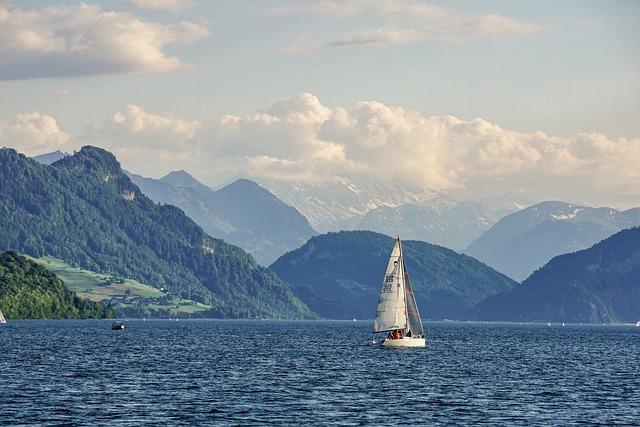 Panoramic Views, Sailing Vessel, Sail