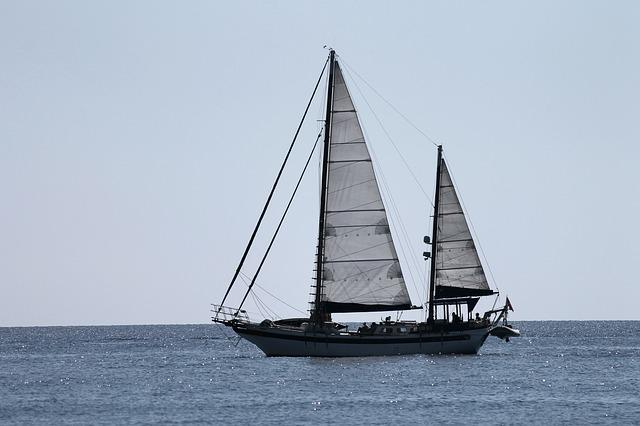 Sailing Vessel, Sail, Side, Ship, Mediterranean, Sea