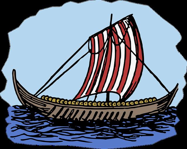 America, Boat, Discover, Ocean, Sail, Ship, Viking