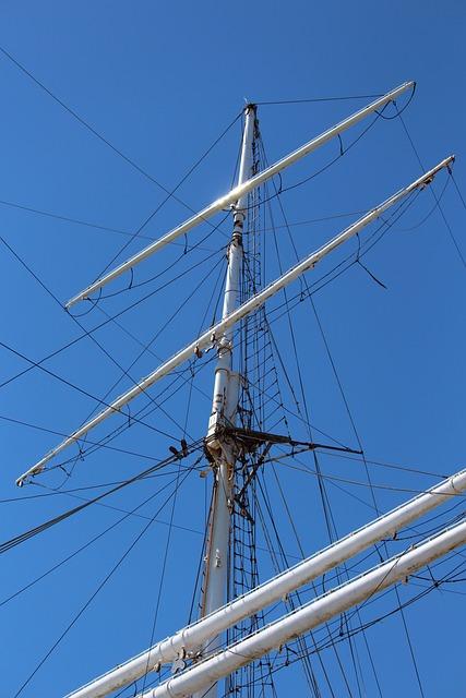 Gorch Fock, Sail Training Ship, Sailing Vessel, Mast