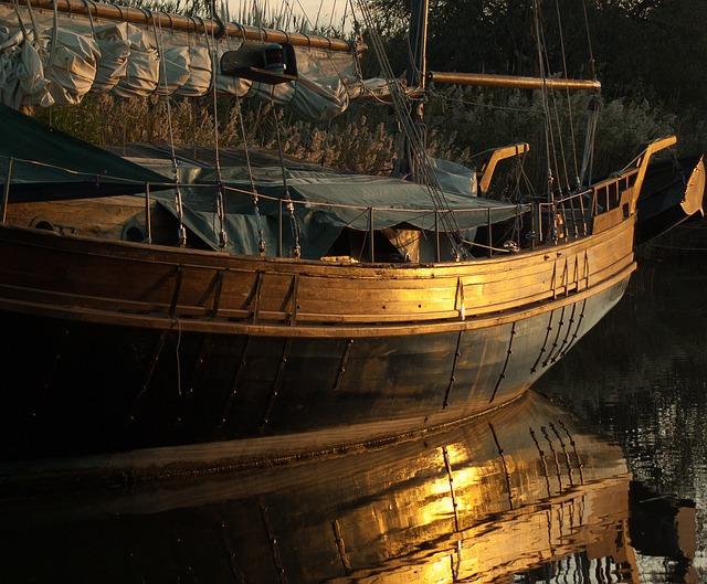 Boat, Sailboat, Sunset, Navigation