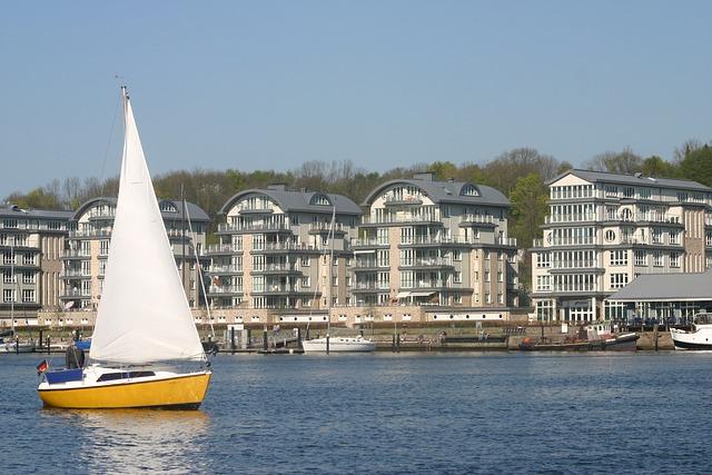 Sailboat, Harbor, Flensburg, Travel, Port, Marina