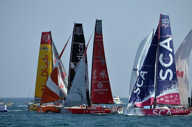 Regatta, Volvo Ocean Race, Sailboat, Sea, Ocean