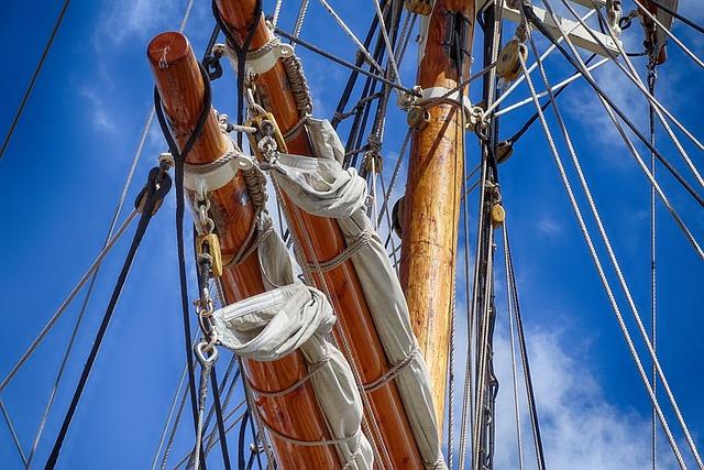 Sailing Boat, Mast, Rope, Delfsail