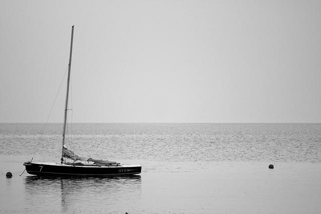 Sailing Boat, Wadden Sea, Sea, Mood, Ebb, Watts, Beach