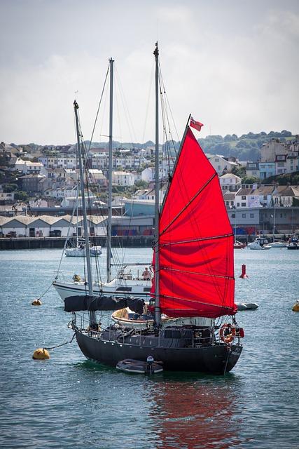 Boat, Sail, Harbor, Ship, Sea, Sailing, Water, Port