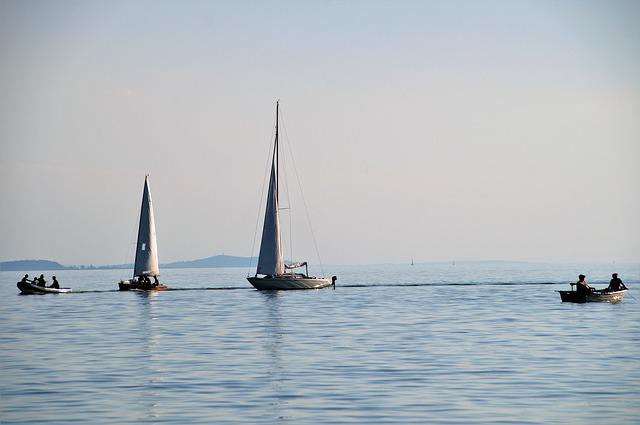 Lake, Balaton, Ship, Sailing Boat, Water Sports