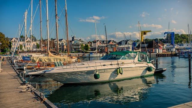 Port, Sailing Boats, Powerboat, Water, Coast, Boat, Sea