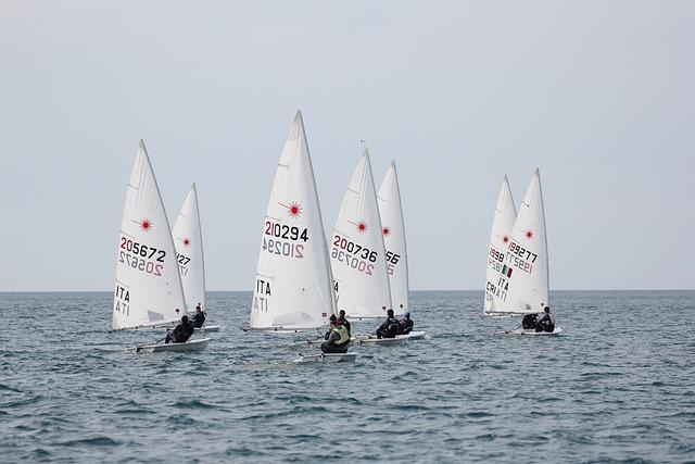 Sailing, Laser, Sea, Eurocup