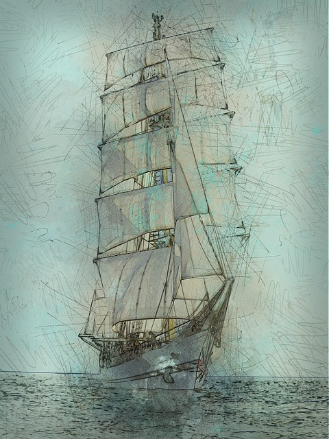 Schooner, Tall Ship, Nautical, Sailing, Ocean, Maritime