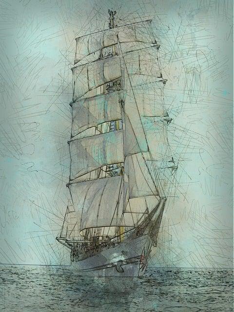 Schooner, Tall Ship, Nautical, Sailing, Ocean, Maritime