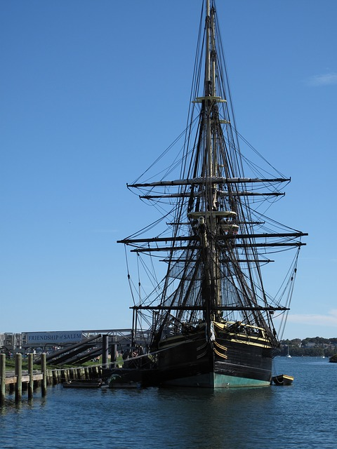 Sailing Ship, Salem, Massachusetts