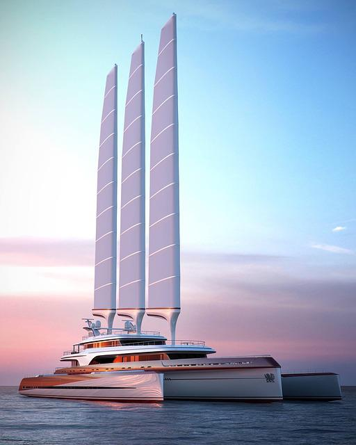Trimaran, Yacht, Sailing, Sailing Ship, Sailing Boat