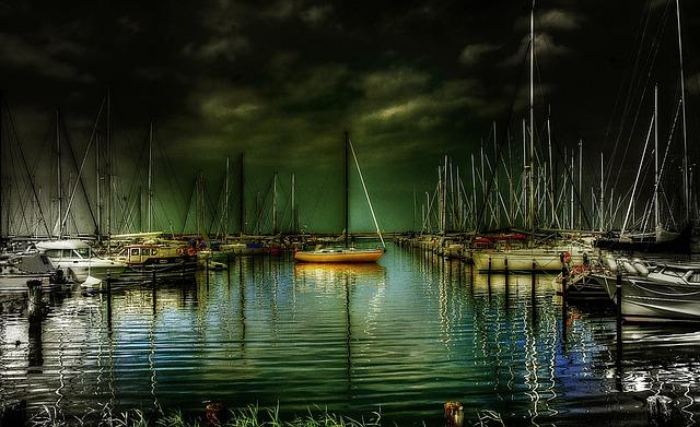 Ships, Sailor, Sail, Sailing Vessel, Port, Boats, Masts