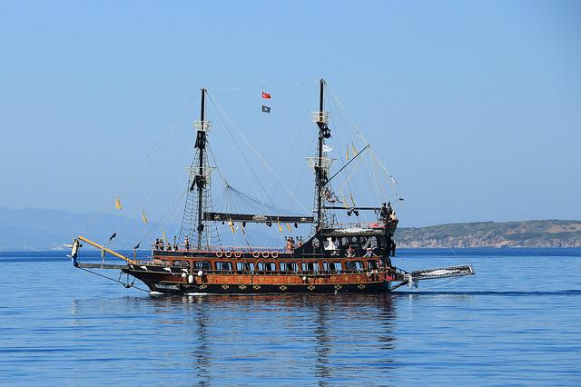 Pirates, Sailing Vessel, Ship