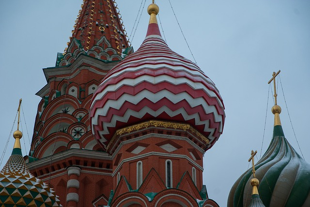 Moscow, Red Square, Saint Basil's Cathedral, Orthodox