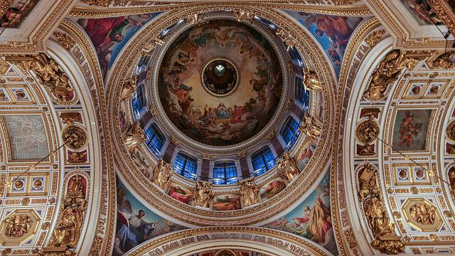 Saint Petersbourg, Cathedral, Saint Isaac, Orthodox