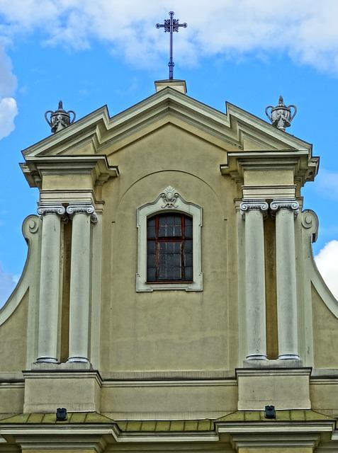 Bydgoszcz, Saint Nicholas, Poland, Gable, Pediment