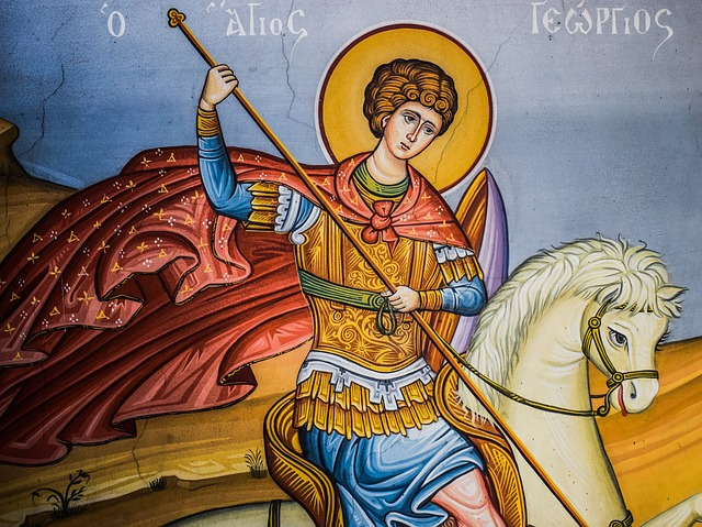 Ayios Georgios, Saint, Iconography, Religion