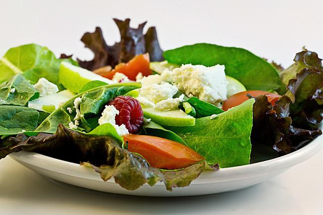 Salad, Fresh, Food, Diet, Health, Dieting, Meal