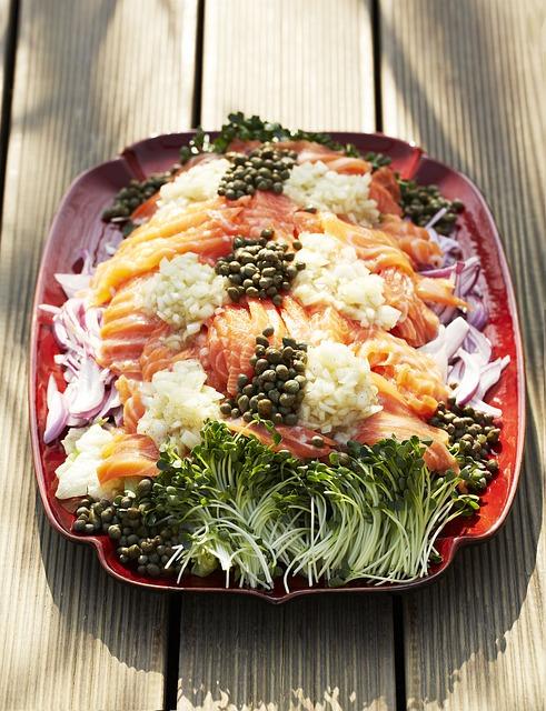 Salmon Salad, Salad, Camping Food, Hugh Sat Pia
