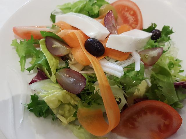 Salad, Lettuce, Food, Meal, Healthy, Spain