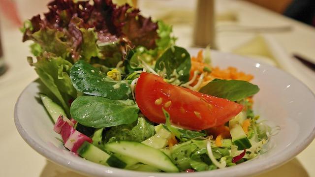 Salad, Mixed Salad, Garnish Salad, Leaf Lettuce