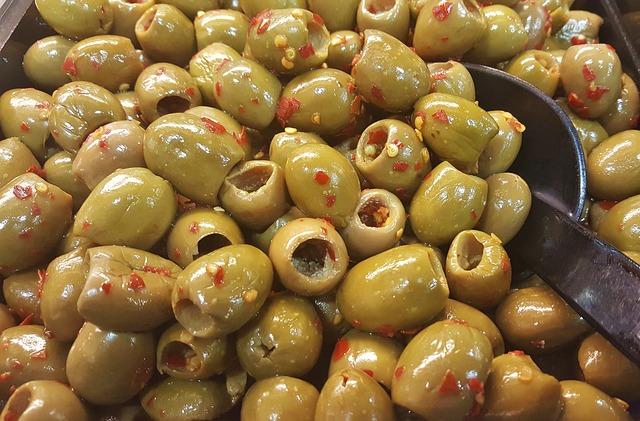 Olives, Green Olives, Pitted Olives, Olive Salad, Salad