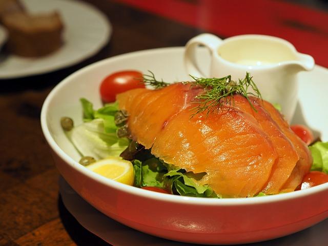 Smoked Salmon Salad, Salmon, Smoked Salmon, Salad