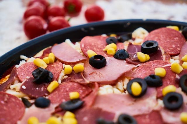 Food, Sausage, Pizza, Salam, Egypt, Olives, Tomato