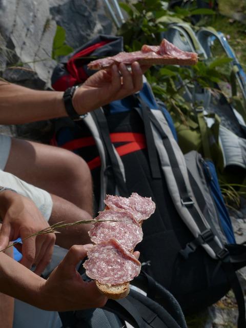 Mountain Vesper, Salami Bread, Vespers, Substantial