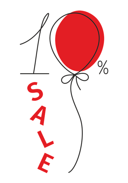 A Discount, Sale, Balloon