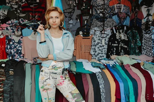 Market, Things, Saleswoman, Girl, Woman, Russkie 90-e