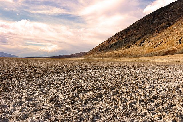 Death Valley, Badlands, Salt Flats, Badwater, National