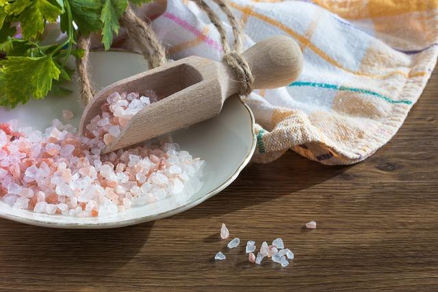 Salt, Grains, Himalayan Salt, Eating, Spices, Kitchen