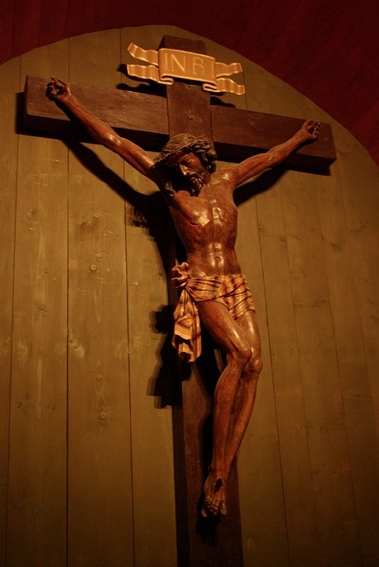 Jesus, On The Cross, Wieliczka, Salt Mine, Underground