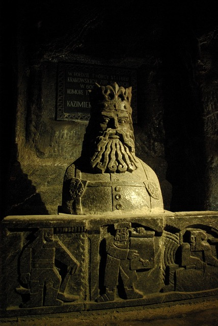 Wieliczka, Salt Mine, Underground, Salt, Sculptures
