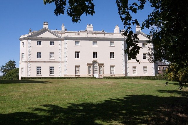 Saltram House, Manor House, Home, Building