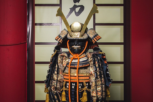 Samurai, Armor, Warrior, Japan